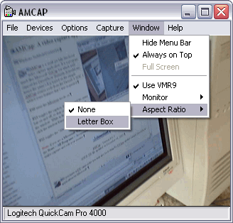 AMCap Screenshot