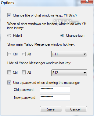 Yahoo Messenger Hider Screenshot