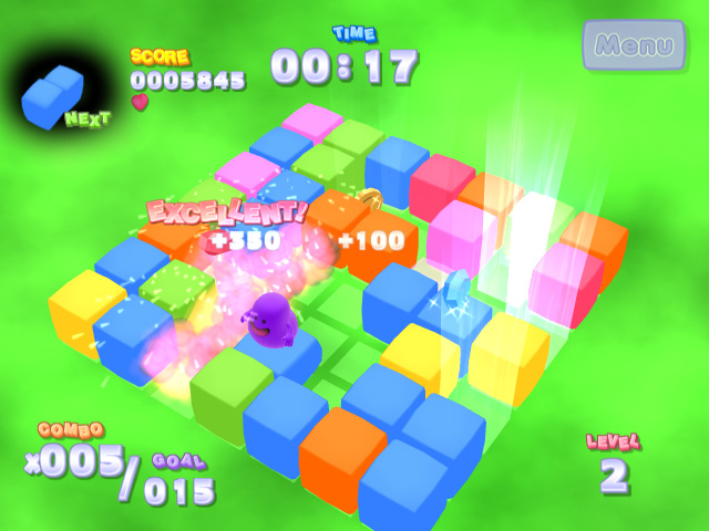 Jack's Bouncy Qubes Screenshot