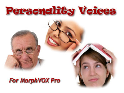 Personality Voices - MorphVOX Add-on Screenshot