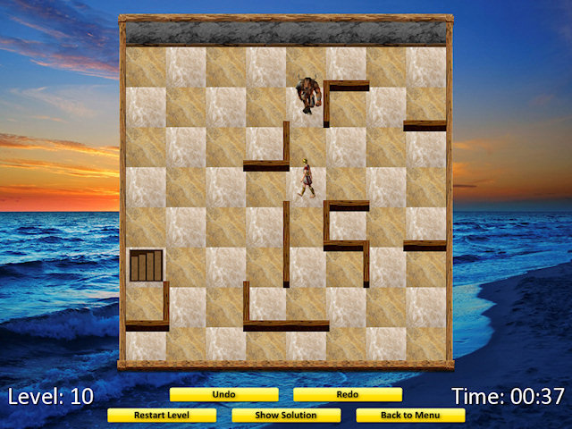Theseus and the Minotaur (Mac) Screenshot