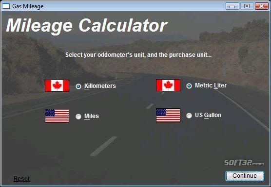 Gas Mileage Calculator Screenshot 2