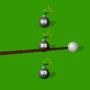 Billiard game Balkline. 1