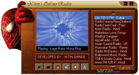 Cool Indian Internet FM Radio Screenshot