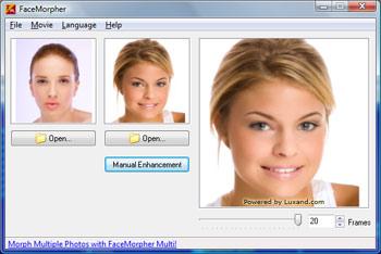 FaceMorpher Lite Screenshot 1