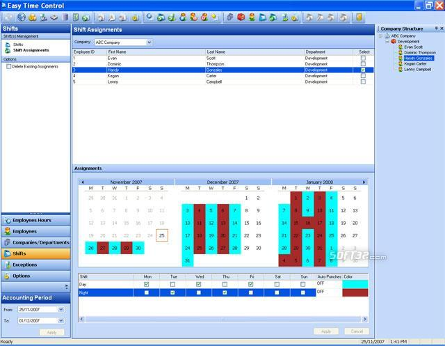 Easy Time Control Enterprise Screenshot 3