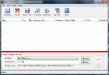 Bluefox WMA MP3 converter Screenshot 2
