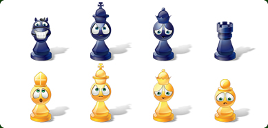 Icons-Land Vista Style Chess Emoticons Screenshot 1