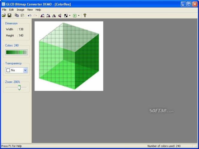 GLCD Bitmap Converter Screenshot 2
