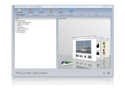Arclab Thumb Studio Free Screenshot