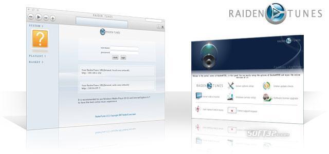 RaidenTunes network music station Screenshot 2