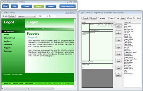 Website Layout Maker Screenshot 2