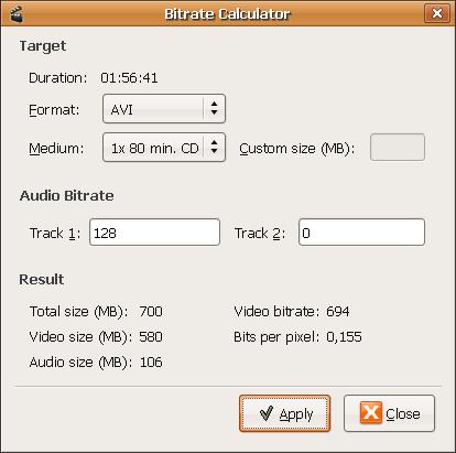 Avidemux Screenshot 3