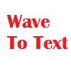 Ultra Wave To Text Component Screenshot