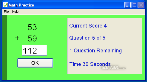 Math Flash Screenshot 3