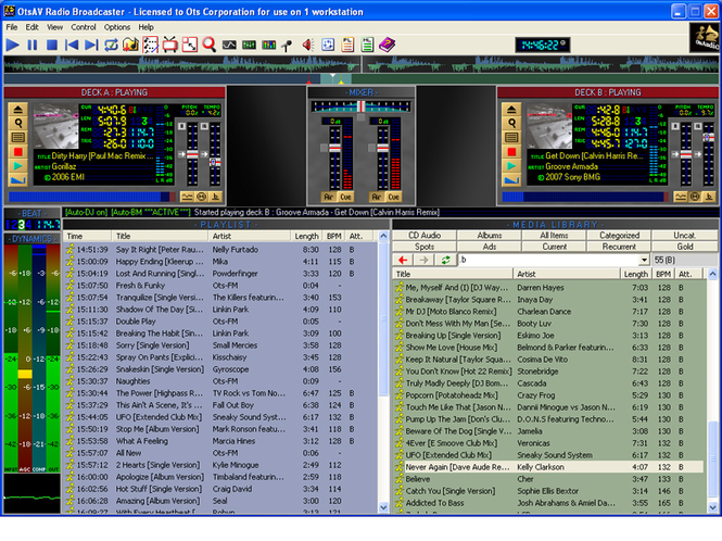 OtsAV Radio Screenshot
