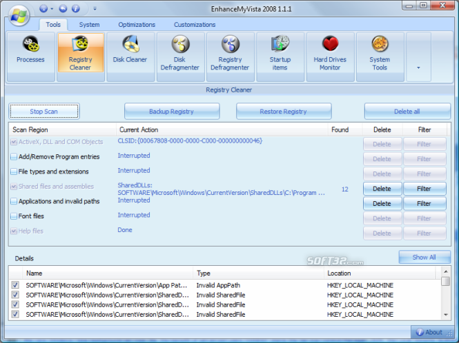 EnhanceMyVista Free Screenshot 3