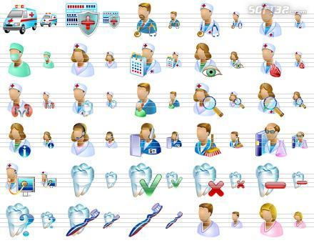 Medical Icons for Vista Screenshot 3