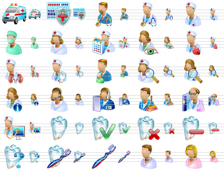 Medical Icons for Vista Screenshot 1