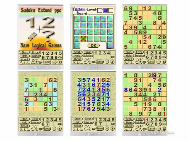 Sudoku Extend PPC Screenshot 3