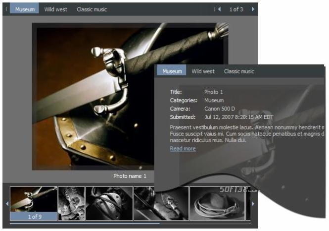 Flash Image Gallery Screenshot 3