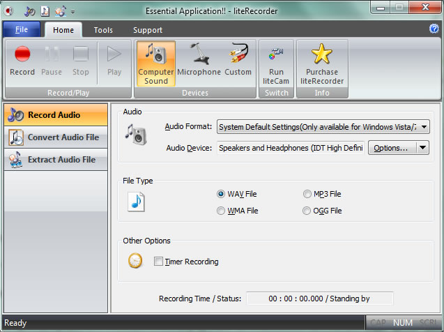 liteRecorder Screenshot