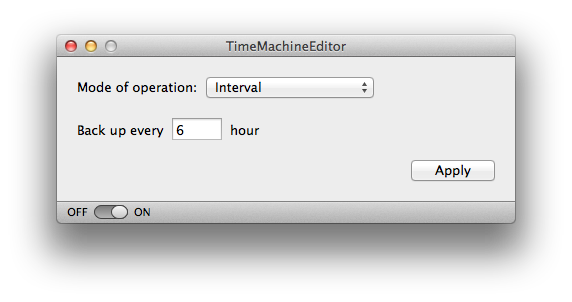 TimeMachineEditor Screenshot