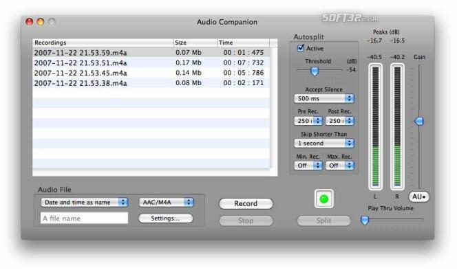 Audio Companion Screenshot 1