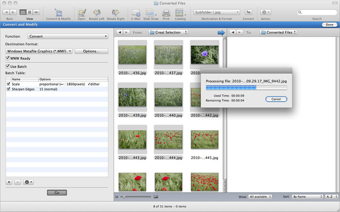 GraphicConverter X Screenshot