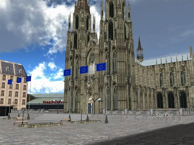 Cologne Cathedral 3D Screenshot
