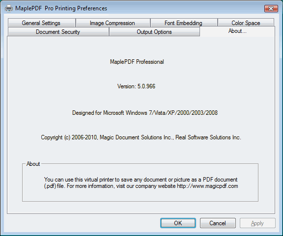 MagicPDF Pro Screenshot