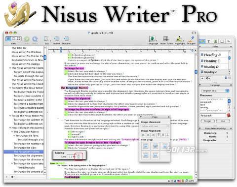 Nisus Writer Pro Screenshot