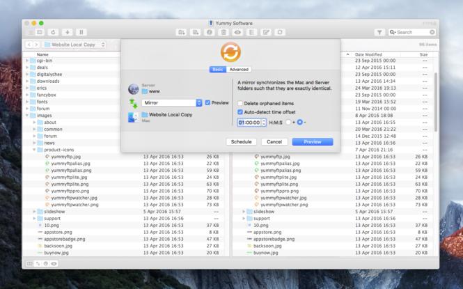Yummy FTP Pro Screenshot 4