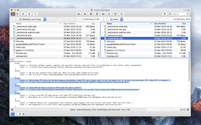 Yummy FTP Pro Screenshot 3