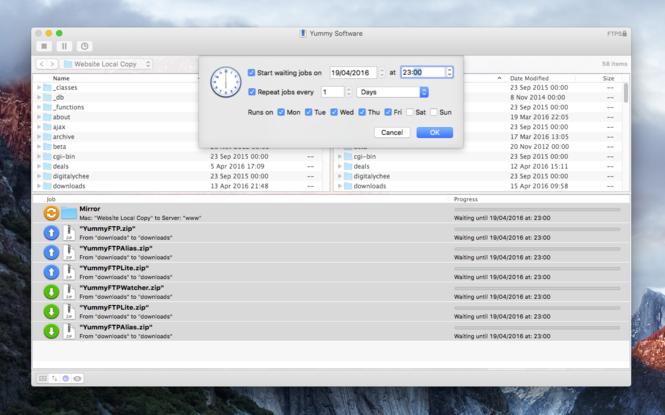 Yummy FTP Pro Screenshot 2