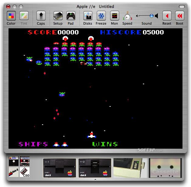 Virtual ][ Screenshot