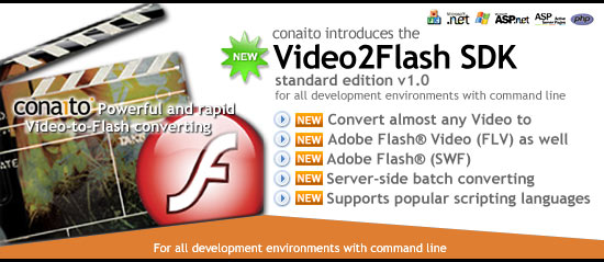 Video2FLV SDK Screenshot 1