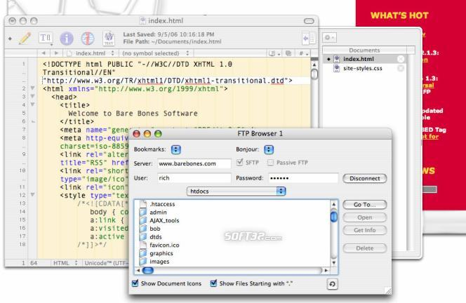 BBEdit Screenshot
