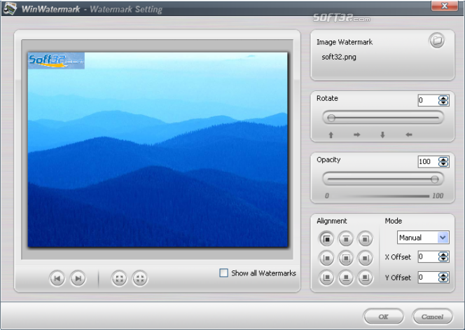 Win Watermark Software Screenshot 5