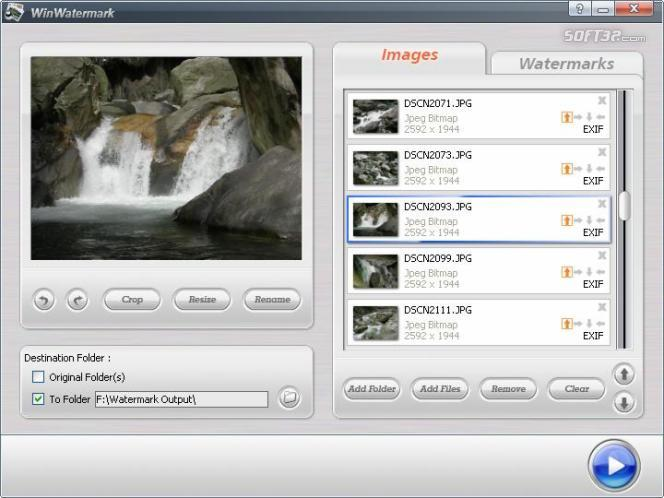 Win Watermark Software Screenshot 3