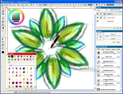 Mandala Painter 3 Screenshot 3