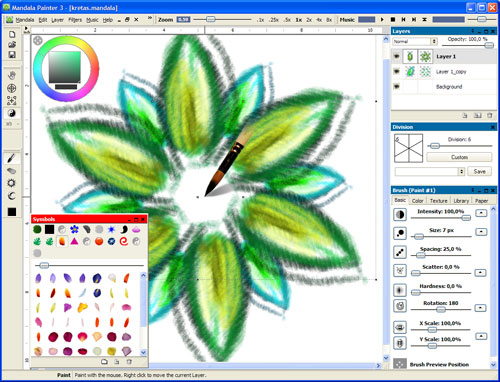 Mandala Painter 3 Screenshot
