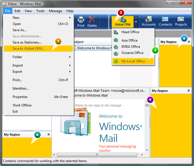 Add-in Express 2008 for Outlook Express Screenshot