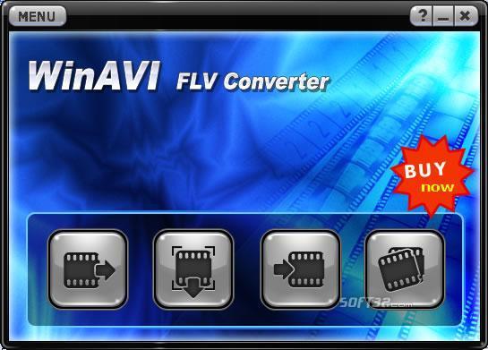 WinAVI FLV Converter Screenshot 1
