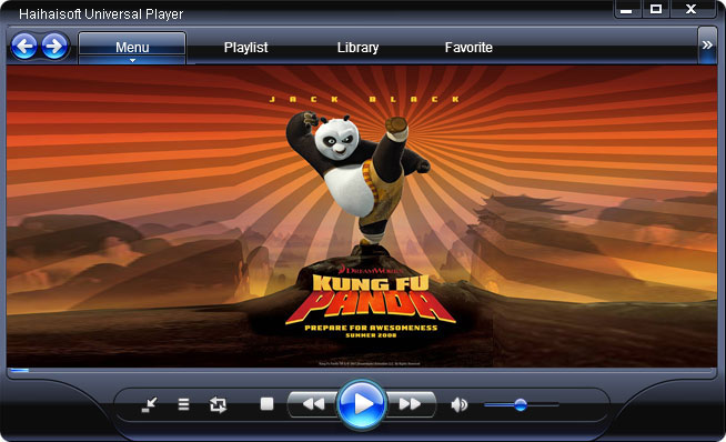 Haihaisoft Universal Player Screenshot