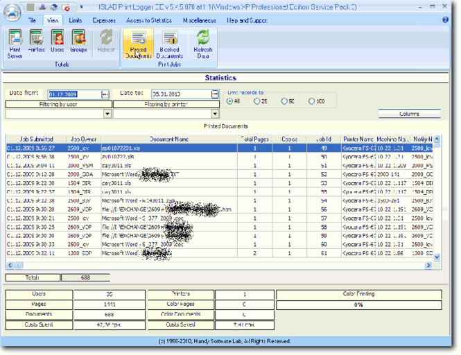 HSLAB Print Logger PE Gift Version Screenshot 1