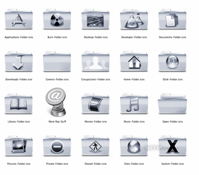 Aluminum Icons Screenshot 1