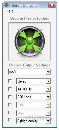 SoundConverter Screenshot 3