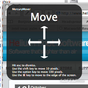 MercuryMover Screenshot