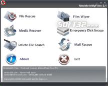 UndeleteMyFiles Pro Screenshot 2